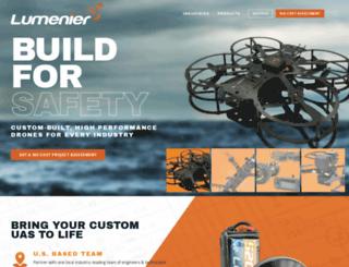 lumenier.com screenshot