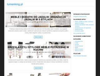 lumenking.pl screenshot