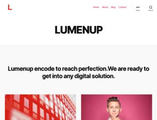 lumenup.com screenshot