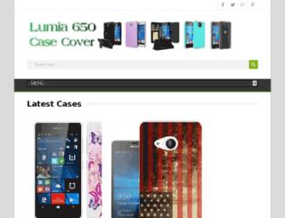 lumia650case.com screenshot