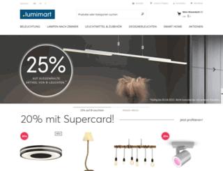 lumimart.ch screenshot