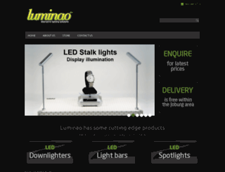 luminao.co.za screenshot