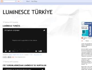 luminesceturkiye.blogspot.com.tr screenshot