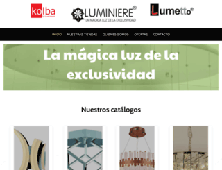 luminiere.com screenshot