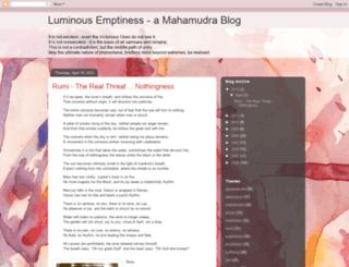 luminousemptiness.blogspot.com screenshot