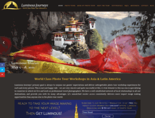 luminousjourneys.net screenshot