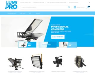 lumipro.com.br screenshot