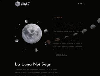 luna.it screenshot