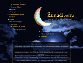 lunadivetro.it screenshot