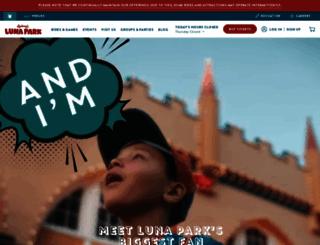 lunaparksydney.com screenshot