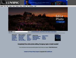 lunapic.com screenshot