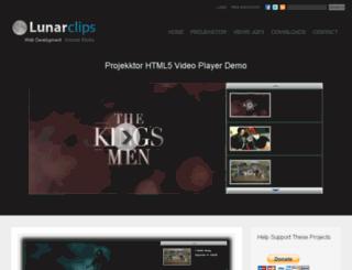 lunarclips.com screenshot