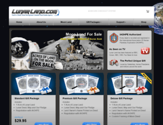 lunarland.com screenshot