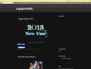 lunatichz.blogspot.com screenshot