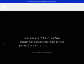 lunaweb.fr screenshot