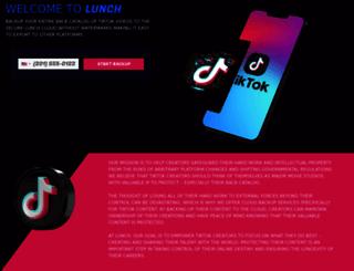 lunch.com screenshot