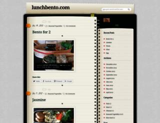 lunchbento.com screenshot