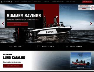 lundboats.com screenshot