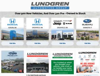 lundgrenhonda.com screenshot