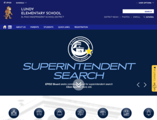 lundy.episd.org screenshot
