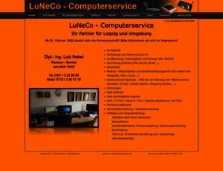 luneco.de screenshot