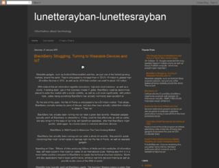 lunetterayban-lunettesrayban.blogspot.com screenshot