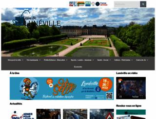 luneville.fr screenshot