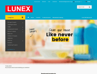 lunex.co.uk screenshot