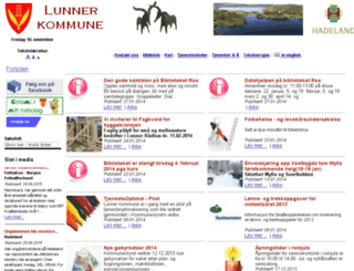 lunner.custompublish.com screenshot