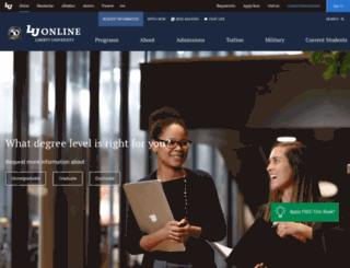 luonline.com screenshot
