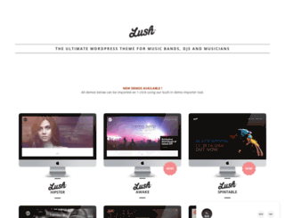 lush.irontemplates.com screenshot