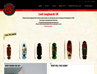 lushlongboards.com screenshot
