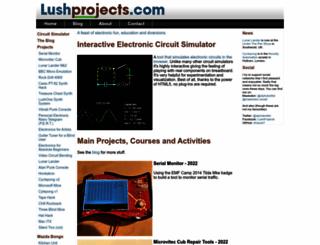 lushprojects.com screenshot