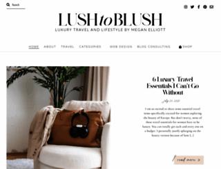 lushtoblush.com screenshot