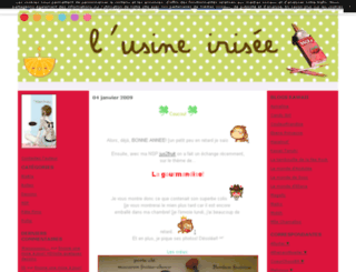 lusineirisee.canalblog.com screenshot