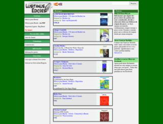lusitanusedicoes.net screenshot