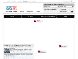 lusomundo.pt screenshot
