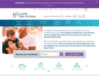 lussierassurance.com screenshot