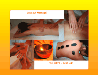lustaufmassage.de screenshot