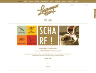 lustenauer-senf.com screenshot