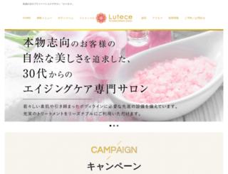 lutece-salon.com screenshot