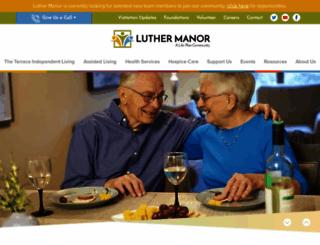 luthermanor.org screenshot