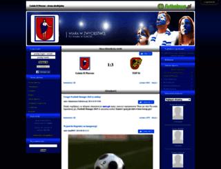 lutnia2.futbolowo.pl screenshot