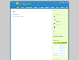 lutoncarparking1.phpbbhosts.co.uk screenshot