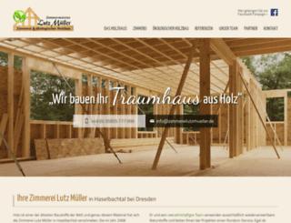 lutzmuellerweb.de screenshot