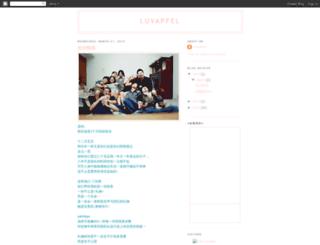 luvapfel.blogspot.com screenshot