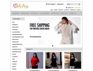 luvcurvy.com screenshot