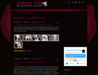 luvmutt.com screenshot