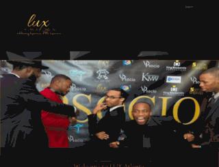 lux-atlanta.com screenshot