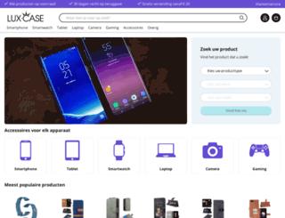lux-case.nl screenshot